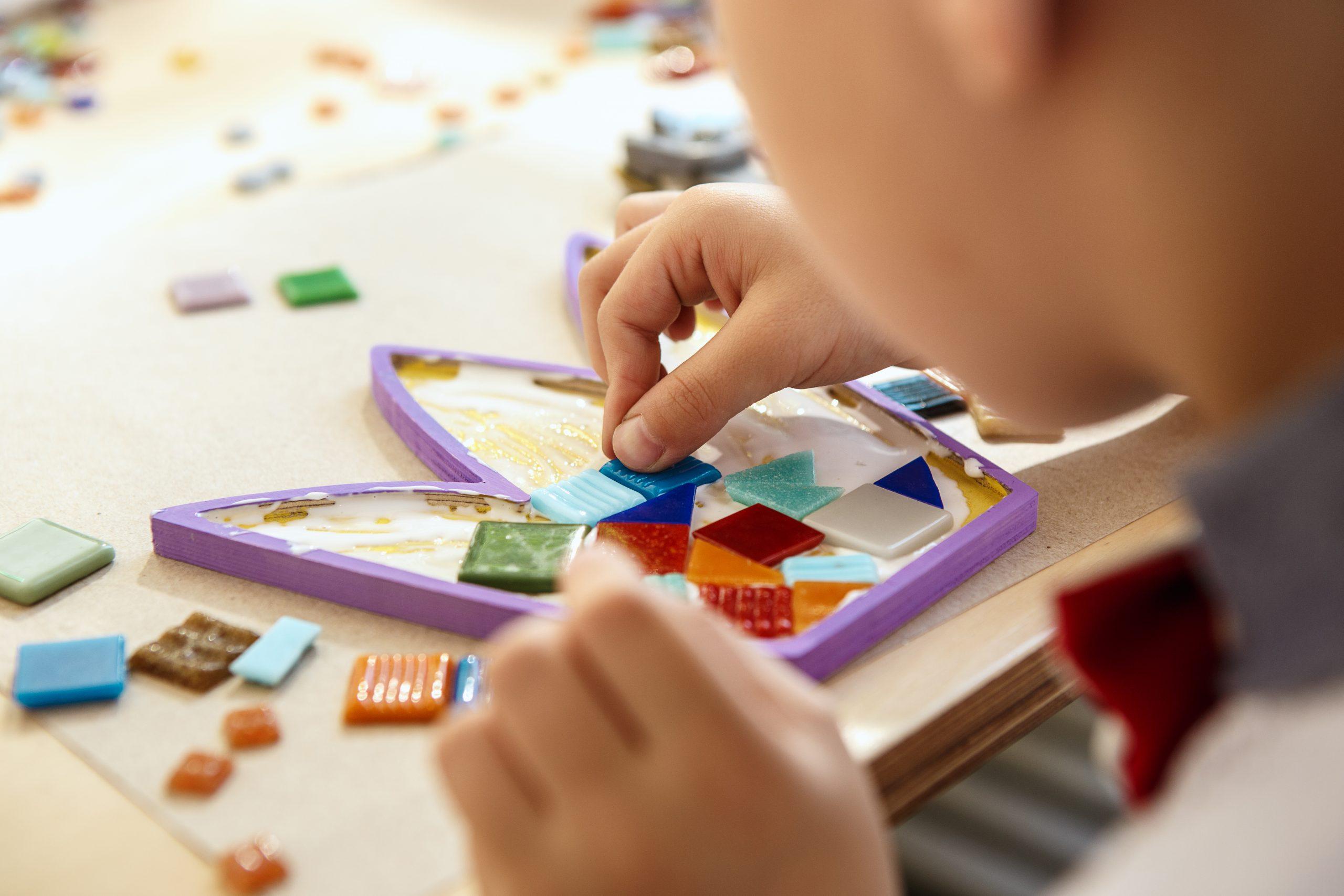 Foto Atividades sensoriais no desenvolvimento da criança