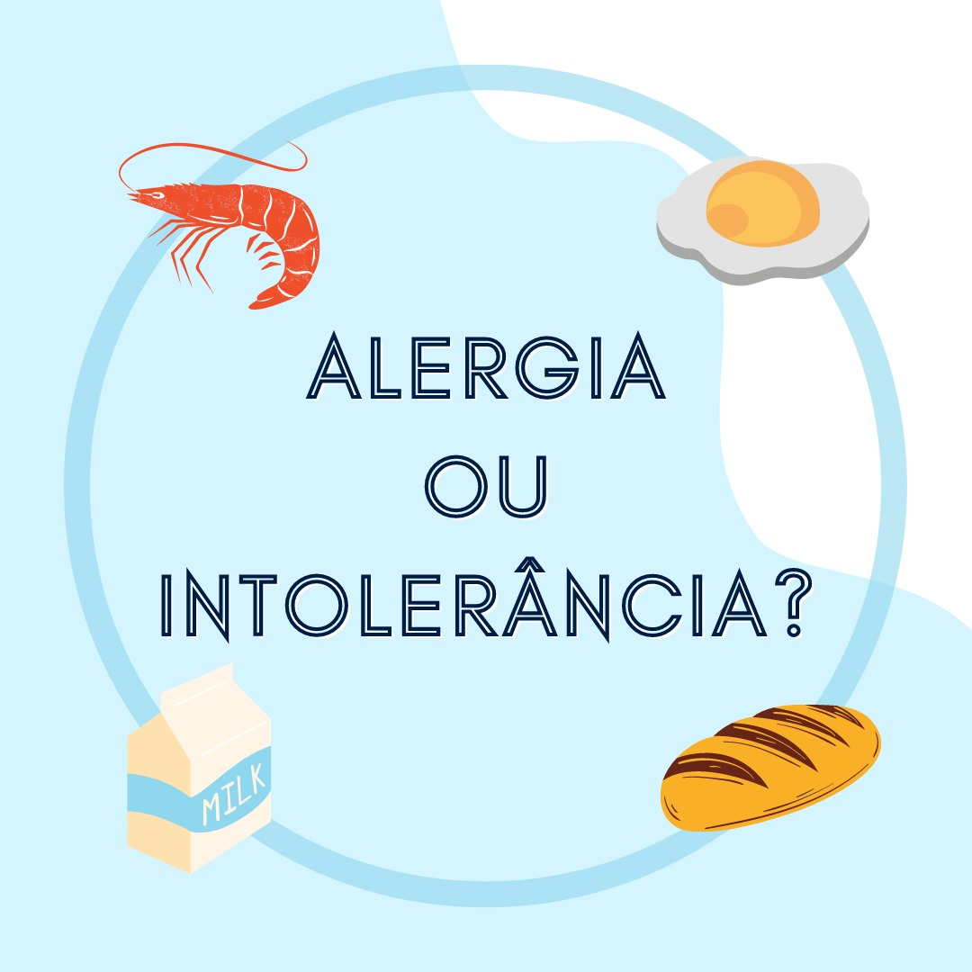 Foto Alergia Alimentar X Intolerância Alimentar