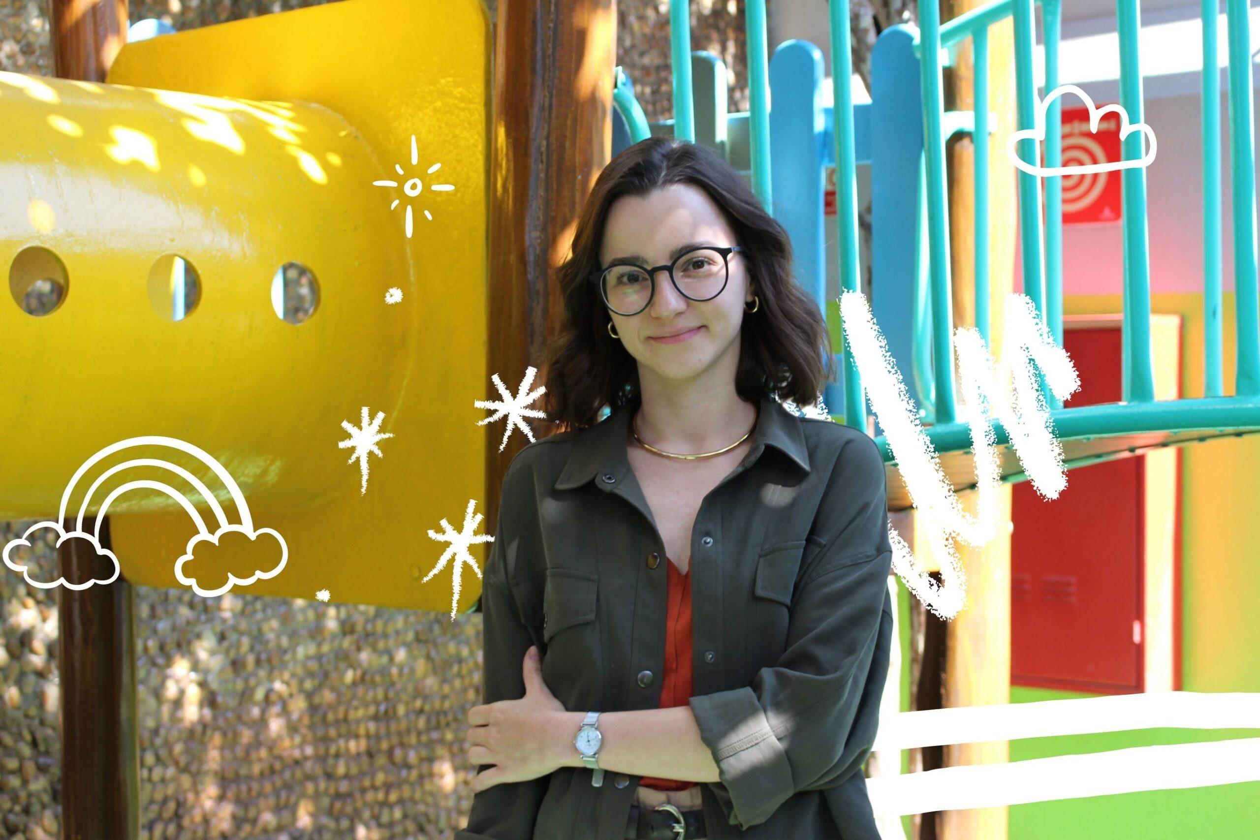 Flávia Vieira, psicóloga escolar